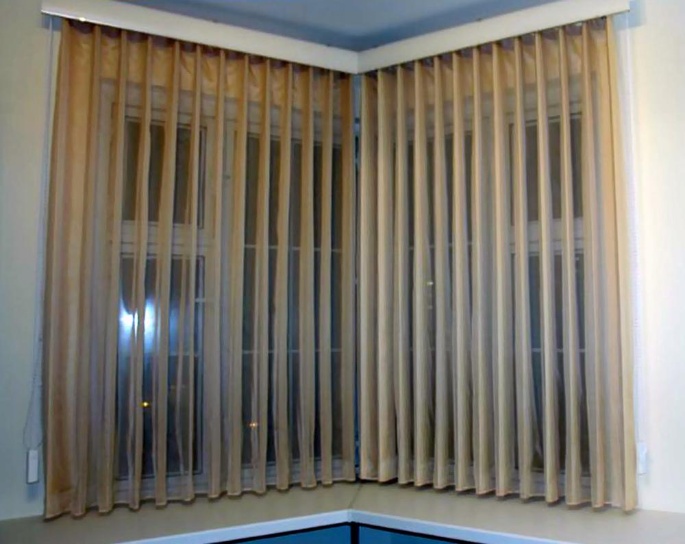 Как выглядят шторы в кухне красивые и
